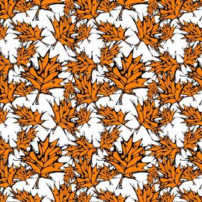 Orange Maple Leaves (small)