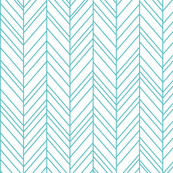 geo joe no.16 herringbone teal tribal aztec geometric modern pattern