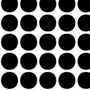 dots medium » black + white no.2