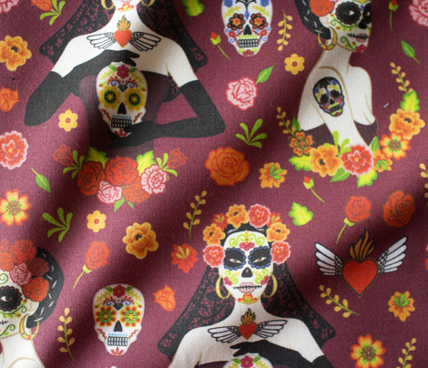 Calavera woman