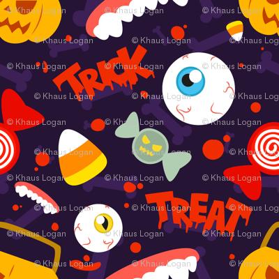 candy corn pattern wallpaper