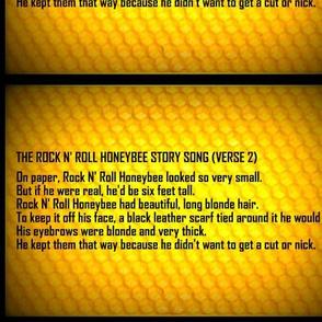 Rock N' Roll Honeybee Story Song Verse 2