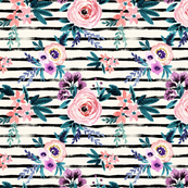 Floral_Stripe