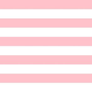 wide stripes rose pink