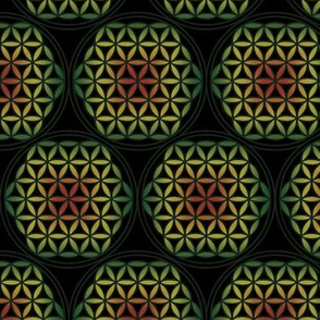 Flower Of Life: Rasta