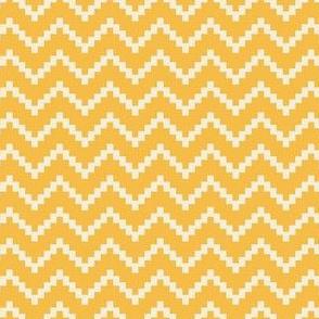 Stepladder Zig Zag in Yellow