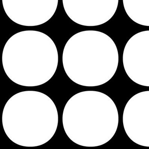 dots huge reversed » black + white no.2