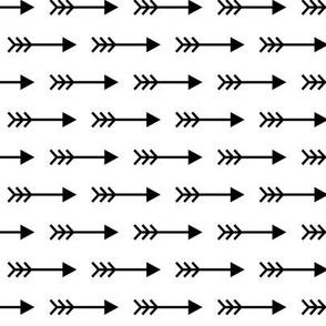 arrows right » black + white no.3