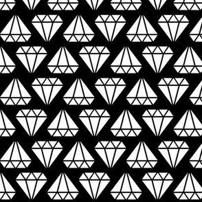 diamonds forever reversed » black + white no.3