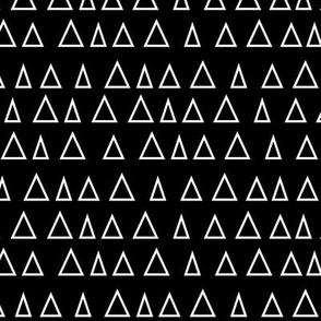 triangles up reversed » black + white no.3