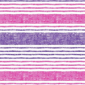 woven stripe || pink and purple