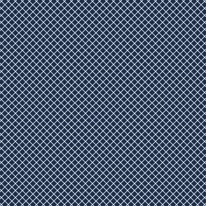 Grid in navy