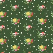 Flower clusters in green - MEDIUM