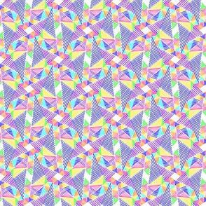 Mod Rainbow Triangle Geometric