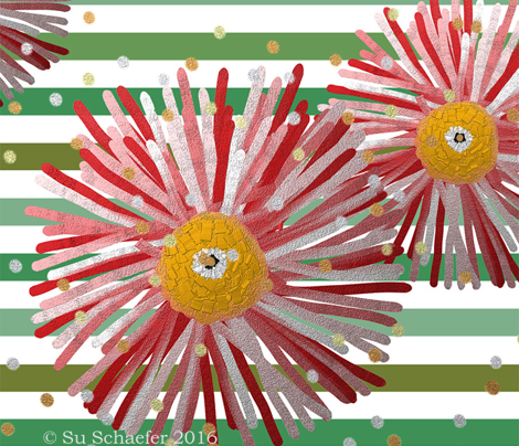 Daisy Dreamer Artist Headband (CLEARER in thumbnail) by Su_G
