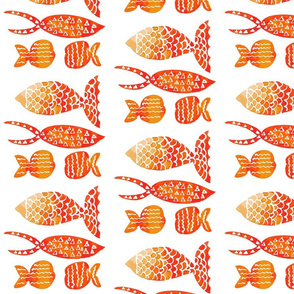 Weirdo golden fish