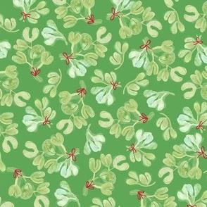 Tinsel Nouveau: Mistletoe Green