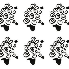 sheep cut and sew plushies, softies, plush pillow