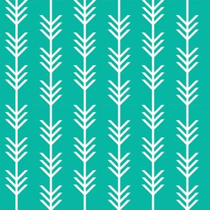 Arrow Stripes // Pantone P130-6C