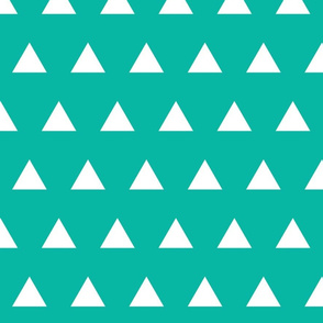 Triangles // Pantone P130-6C