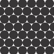 large black polka dots