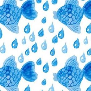 Fish's rain