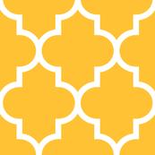 quatrefoil XL golden honey