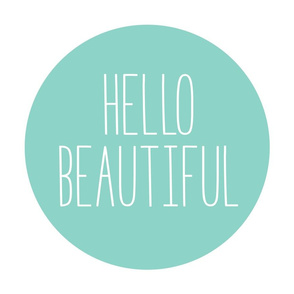 hello beautiful mint mod baby » plush + pillows // fat quarter