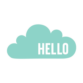 hello cloud mint mod baby » plush + pillows // fat quarter