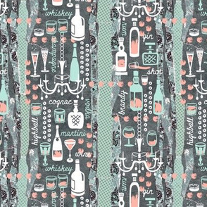 Party Time in Spoonflower Mint