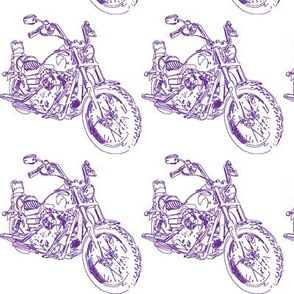 Purple Motorcycle