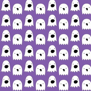 ghosts on purple » halloween