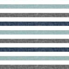 stripes || navy grey dusty blue