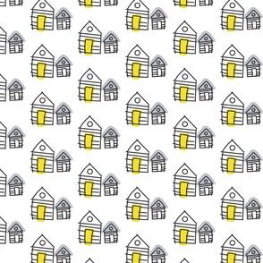 Line hut houses