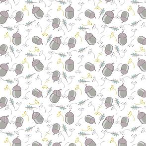 Lilac acorns