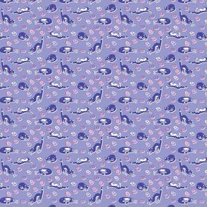 Doughnuts & Cats Blue / Pink