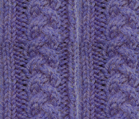 Custom Knit Fabric : Knit and Purl fabric - incogknito - Spoonflower