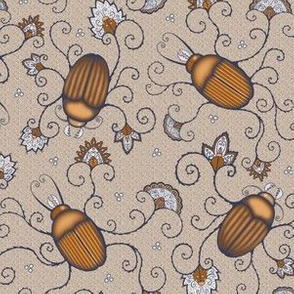 Fancy Brown Beetles