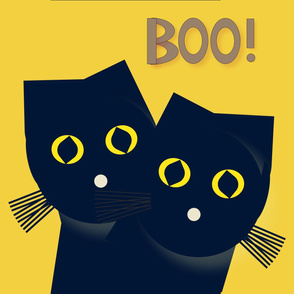 Halloween Cat Large