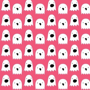 ghosts on hot pink » halloween