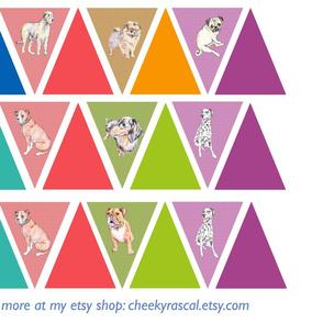 Nursery bunting: Dogs