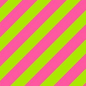 Collegiate Repp Pink Green