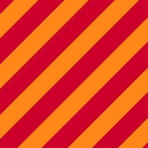 Collegiate Repp Orange Red
