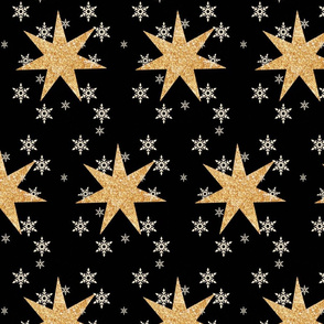 Gold Stars and Snowflakes 2016