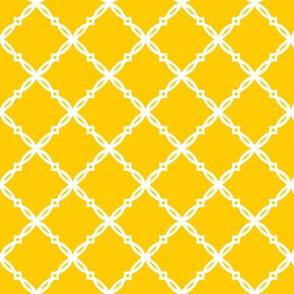 Michigan Yellow Diamond Trellis