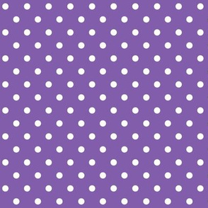 halloween » dotty white on purple