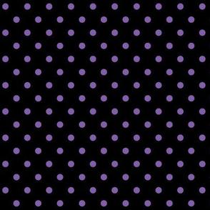 halloween » dotty purple on black