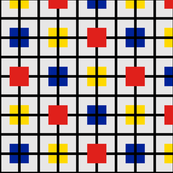 Plaid 3 for men who like Mondrian by Su_G