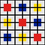 Plaid 3 for men who like Mondrian by Su_G