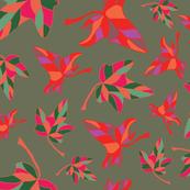 Variegated Autumn Leaves